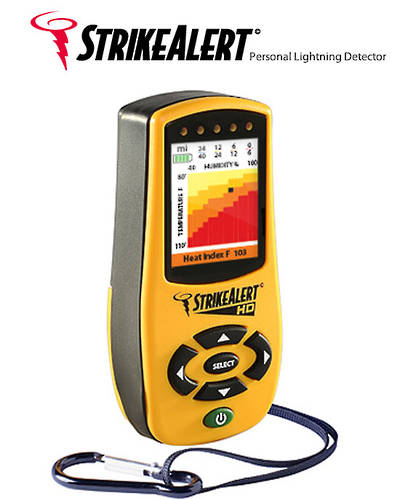 LD4000 Strike Alert HD Field Lightning Detector with Heat Index
