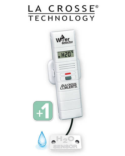 TX70 926-25004 Add-On Remote Water Leak Detector with Temp/Humidity