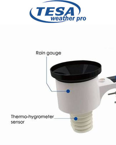 TX81 Thermo and Rain Sensor for WS1081v2