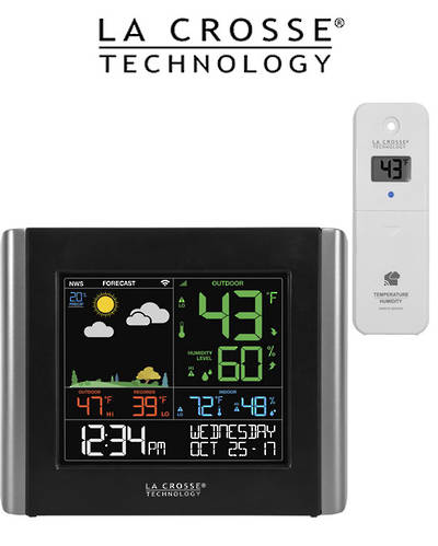V10-TH La Crosse WiFi Colour Weather Station