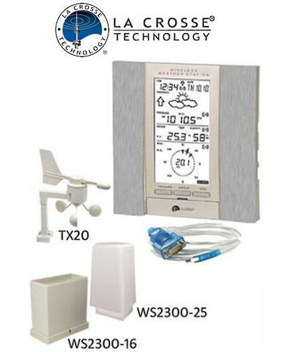 WS2355 La Crosse Professional Weather Station with PC Connection