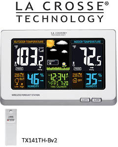 308-1414W La Crosse Wireless Color Weather Station