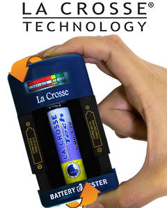 911-114 La Crosse Portable Battery Tester