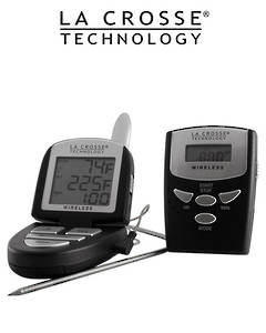 922-818 La Crosse Wireless Kitchen Thermometer and Timer