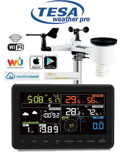 WS2980C-PRO TESA Professional WIFI Colour Weather Station