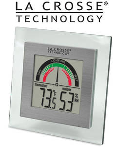 WT-137 La Crosse Comfort Meter with Temp and Humidity