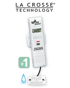 TX70 926-25004-BP Add-On Remote Water Leak Detector with Temp/Humidity