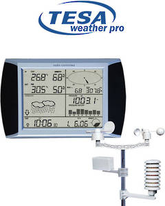 WS1081 TESA Professional Touch Screen Weather Station with PC Connection