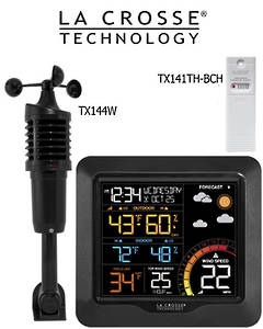 327-1417 Professional Color Wind Speed Weather Station